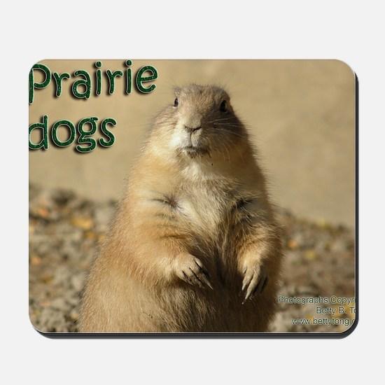 Prairie Dogs Mousepad