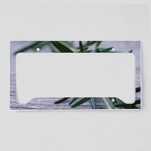 Rosemary License Plate Holder