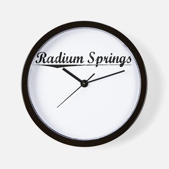 Radium Springs, Vintage Wall Clock