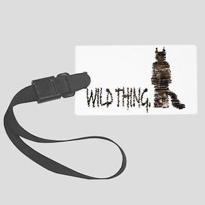 Wild Thing Large Luggage Tag