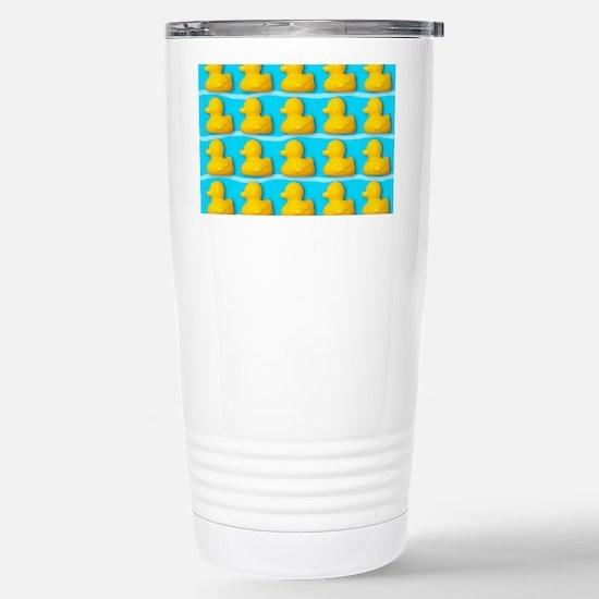 Rubber ducks Stainless Steel Travel Mug
