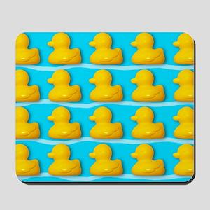 Rubber ducks Mousepad
