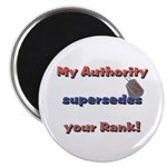 Army Wife Authority Magnet