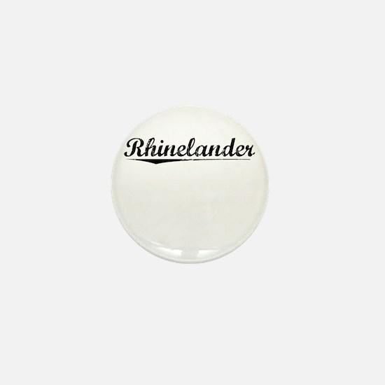 Rhinelander, Vintage Mini Button