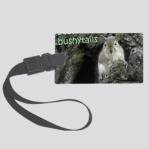 Baby Bushytails Large Luggage Tag