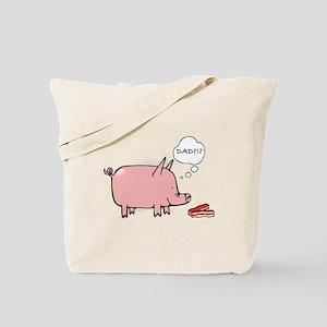 Dad Bacon Tote Bag