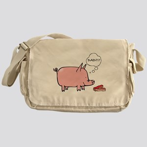 Dad Bacon Messenger Bag