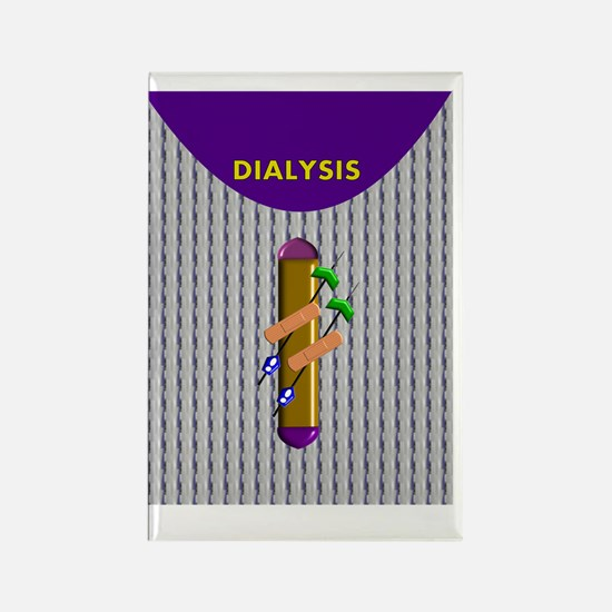 DIALYSIS CP IPHONE CASES 3 Rectangle Magnet