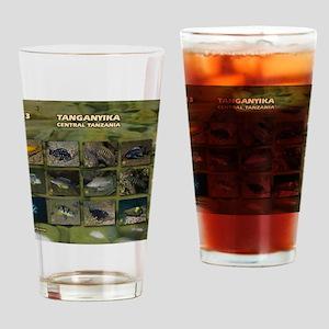 Tanganyika Cichlids calendar Drinking Glass