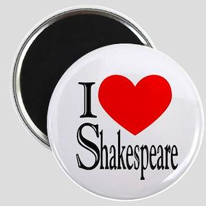 I Love Shakespeare Magnet