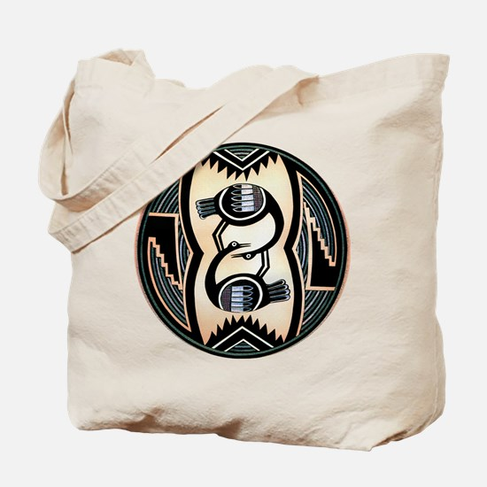 MIMBRES LOVE BIRDS BOWL DESIGN Tote Bag
