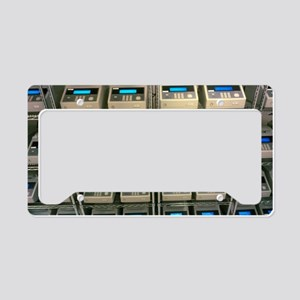 Rows of PCR systems copying h License Plate Holder