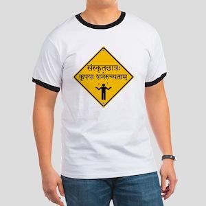 Caution: Sanskrit Student Ringer T