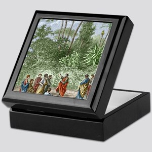 School of Pythagoras in Croton Keepsake Box