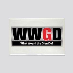 WW the Glen D Rectangle Magnet