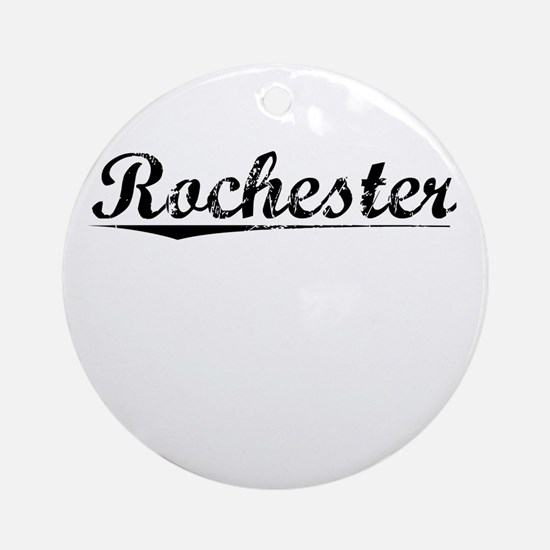 Rochester, Vintage Round Ornament