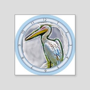 "Big Bird Square Sticker 3"" x 3"""