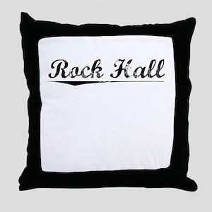 Rock Hall, Vintage Throw Pillow
