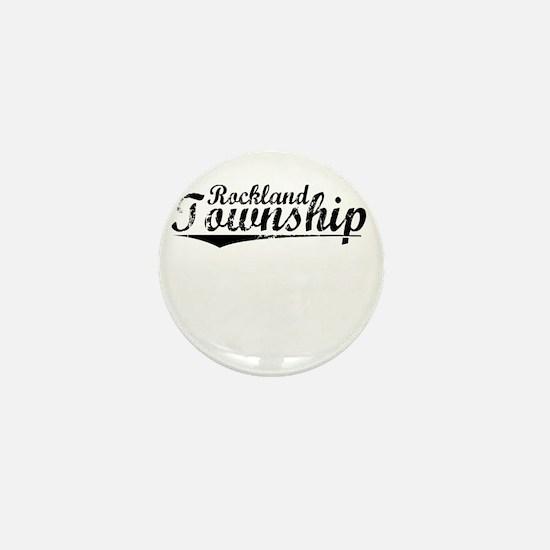 Rockland Township, Vintage Mini Button