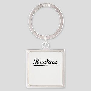 Rockne, Vintage Square Keychain
