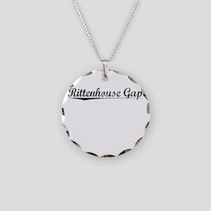 Rittenhouse Gap, Vintage Necklace Circle Charm