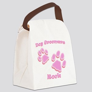 Dog Groomers Rock Canvas Lunch Bag