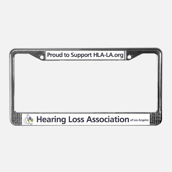 HLA-LA.org License Plate Frame