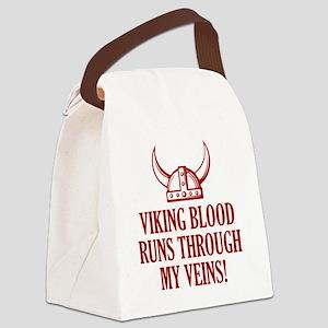 vikingBlood1D Canvas Lunch Bag