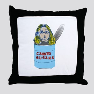 Canned! Throw Pillow
