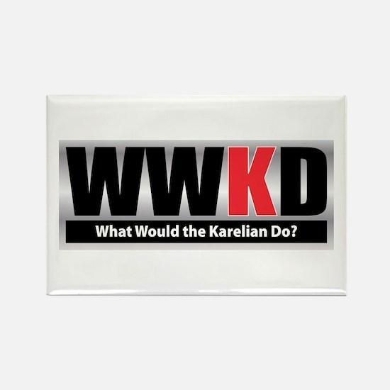 WW the Karelian D Rectangle Magnet