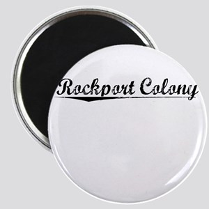 Rockport Colony, Vintage Magnet