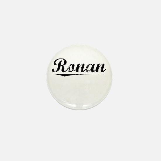 Ronan, Vintage Mini Button