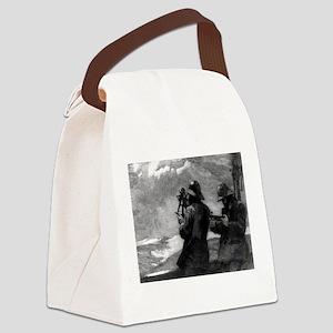 Eight bells - Winslow Homer - 1888 Canvas Lunch Ba
