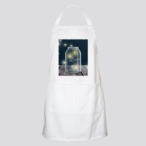 Midnight Fireflies Mason Jar Apron