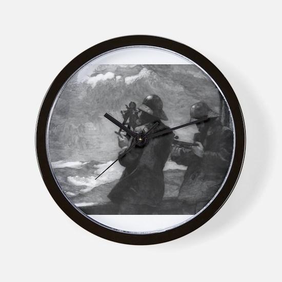 Eight bells - Winslow Homer - 1888 Wall Clock