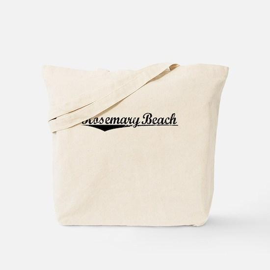 Rosemary Beach, Vintage Tote Bag