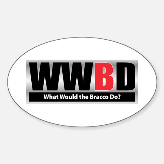 WW the Bracco D Oval Decal