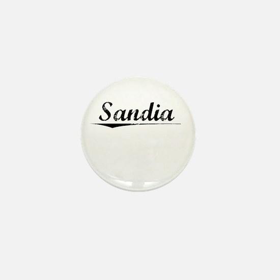Sandia, Vintage Mini Button
