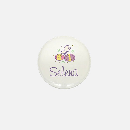 Easter Eggs - Selena Mini Button
