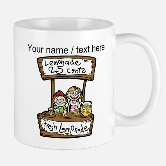 Custom Lemonade Stand Mugs