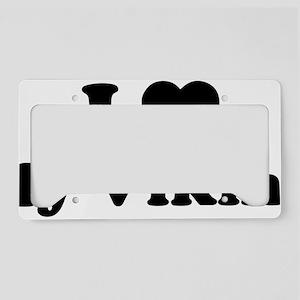 vikingLoveMy1E License Plate Holder
