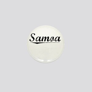Samoa, Vintage Mini Button