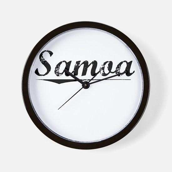 Samoa, Vintage Wall Clock
