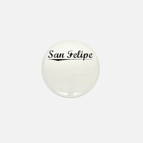 San Felipe, Vintage Mini Button