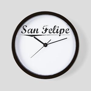 San Felipe, Vintage Wall Clock