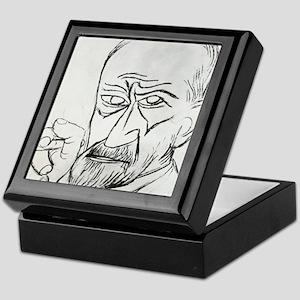 Sigmund Freud, Austrian psychologist Keepsake Box