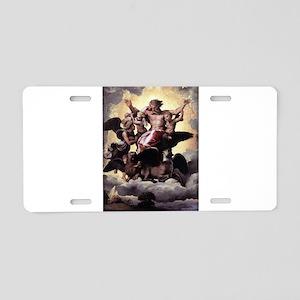 Ezekiel's Vision - Raphael Aluminum License Plate
