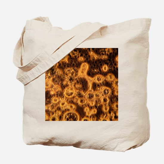 Simulated space ice Tote Bag