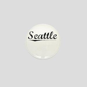 Seattle, Vintage Mini Button