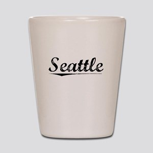 Seattle, Vintage Shot Glass